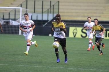 Sub-20 do Criciúma empata com o São Paulo
