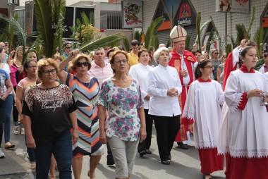 Semana Santa inicia com a Bênção dos Ramos