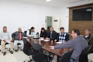 Reunião fechamento do plantão da Delegacia de Polícia de Içara