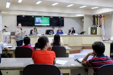 Educação, segurança, saúde e infraestrutura em pauta na Sessão Mirim