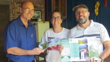 Secretaria de Turismo lança novo folder para divulgar atrativos de Jacinto Machado