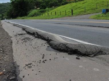 Más condições de rodovia preocupam vereadores de Treviso