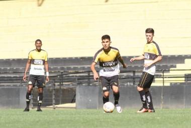 Sub-20 do Criciúma inicia duelo por tírulo do Catarinense