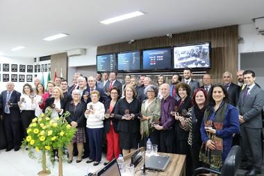 APAE de Içara é homenageada pelos seus 40 anos