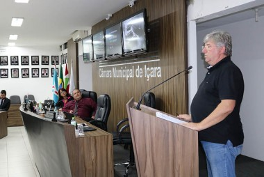 Arnaldo Lodetti falou sobre as obras no centro da cidade