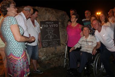 Praça Victor Gava é inaugurada em Nova Veneza