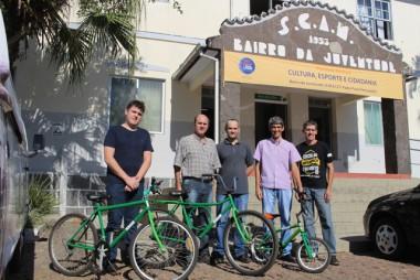 Parceria doa bicicletas para o Bairro da Juventude