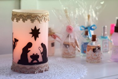Velas artesanais: uma tradição de natal