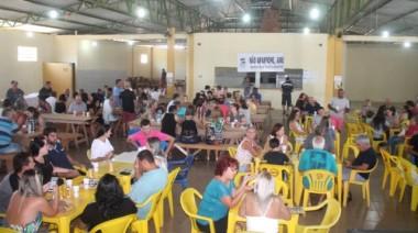 Almoço beneficente reúne mais de 300 pessoas no Rincão