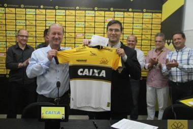 Criciúma Esporte Clube e Caixa Ecônomica firmam parceria