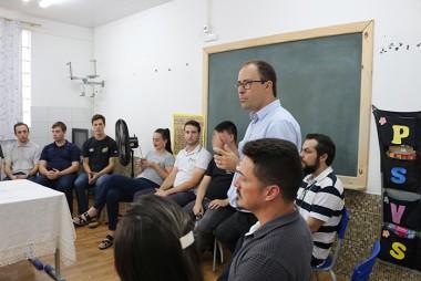 Estudantes da Satc finalizam instalação elétrica em escola municipal