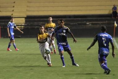 Sub-20 do Criciúma fica no empate com o Palmeiras