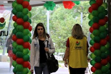 Unesc dá as boas-vindas aos estudantes na segunda-feira