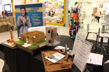 Senai promove exposição interativa no Nações Shopping