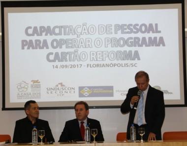 Ministério das Cidades apresenta Cartão Reforma em SC
