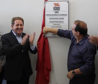 Dia de Ação do Governo em Criciúma tem inauguração