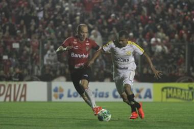 De virada o Criciúma venceu o Brasil em Pelotas pela Série B