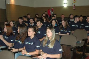 Satc recebe estudantes e professores italianos