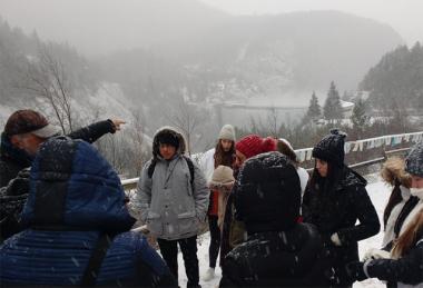 Grupo da Satc chega a última semana de intercâmbio na Itália