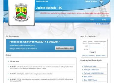 Inscrições de processo seletivo da prefeitura encerram na terça