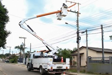 Novos transformadores são instalados no Jaqueline