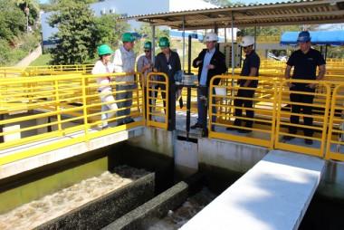 Vigilância Sanitária visitam Estação de Tratamento de Água