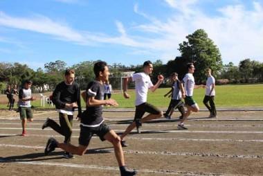 Jogos Olímpicos da Satc começa com atletismo