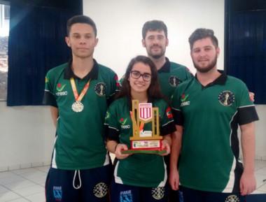 Içara é campeã geral nos Jogos Universitários Catarinenses