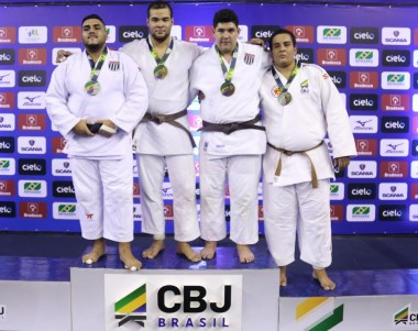 Campeão brasileiro de judô e conquista vaga no Panamericano