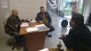 Vereador se reúne com diretor de Trânsito