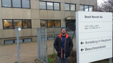 Ex-aluno Satc realiza estudos na Alemanha