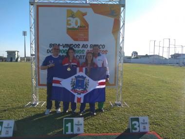 Nova Veneza ganha quatro medalhas nos Joguinhos Abertos