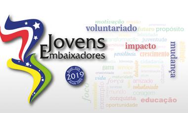 Estudantes catarinenses são selecionados para  Programa Jovens Embaixadores 2019