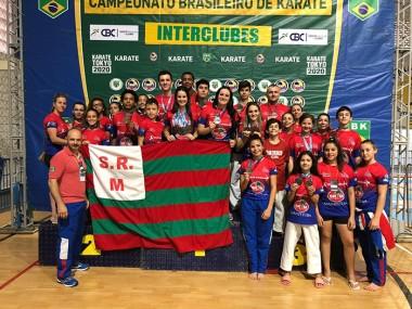 Içarenses terminam competição nacional de karatê na quinta posição