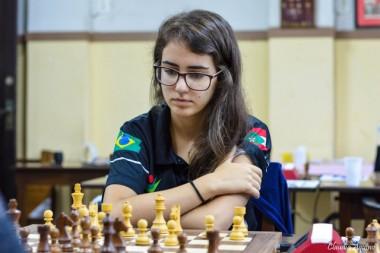 Kathiê tenta título nacional de xadrez no Rio de Janeiro