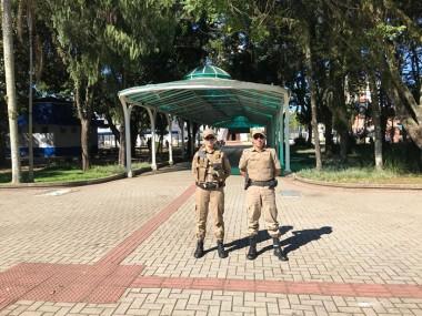 Polícia Militar sempre presente nas ruas de Araranguá