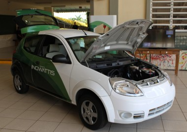 Satc cria Núcleo de Mobilidade Elétrica e apresenta carro elétrico