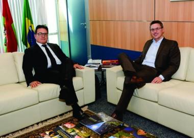 Esmeraldino participa de audiência com atual Ministro do Turismo