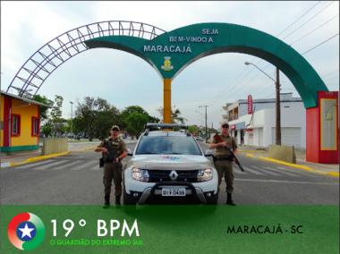 Polícia Militar comemora queda acentuada de roubos em Maracajá