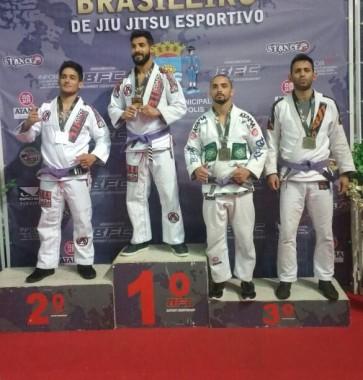Atleta de Araranguá ficou entre os melhores no Sul Brasileiro