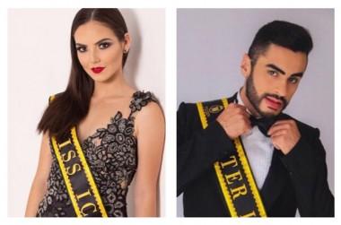 Alyne e Lucas representam Içara no concurso Miss e Mister SC
