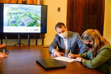 Governador autoriza mais de R$ 144 milhões para a maior Estação de Tratamento de Esgoto