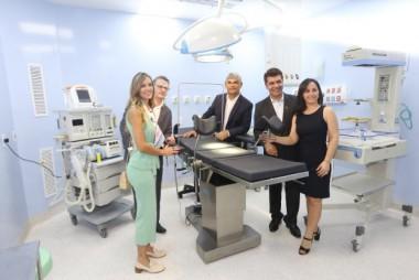 Moreira inaugura reforma e ampliação do Hospital Materno Infantil Santa Catarina