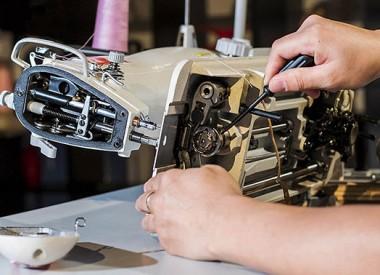 Vagas abertas para o curso de Manutenção de Máquina de Costura