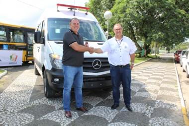 Departamento de Saúde de Maracajá agora tem três ambulância