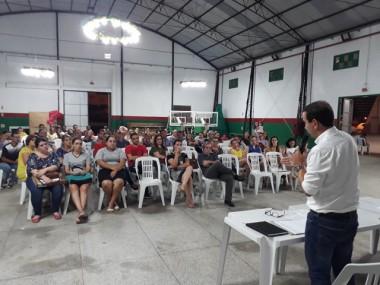 Prefeito de Maracajá pede comprometimento em assembleia