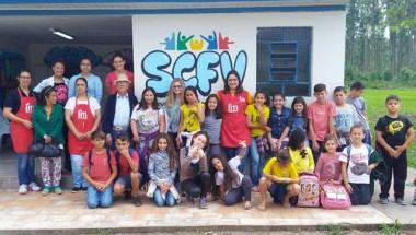 Projeto social une e integra gerações em Maracajá