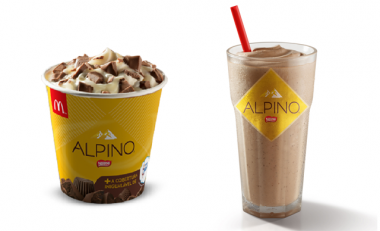 McDonald's lança McShake Alpino e McFlurry Alpino com Leite Moça
