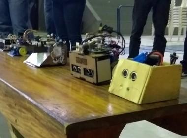 Satc conquista bons resultados em campeonato de robótica móvel