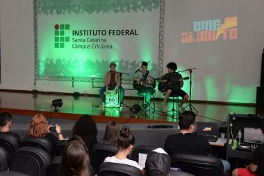 Artistas locais podem se apresentar em Mostra do IFSC